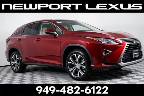 Certified Pre-Owned 2017 Lexus RX 450h