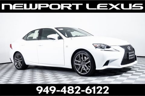 Certified Pre-Owned 2016 Lexus IS 200t